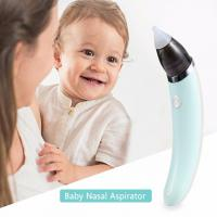 China Electric Automatic Nose Cleaner,Baby Nasal Aspirator,2 Sizes of Silicone Tips wholesale