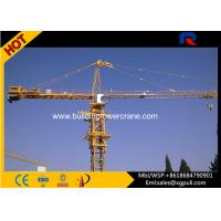 China Hammerhead Fixed Tower Crane , Large Construction Cranes 30M Freestanding Height wholesale