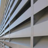 China aluminum sound control louver on sale