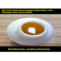 China High Purity Muscle Growth Steroids / Boldenone Undecylenate Equipoise Cas 13103-34-9 wholesale
