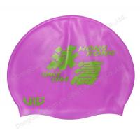 China printing silicone swim hats and hair cap wholesale