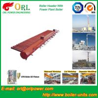 China Longitudinal Oil Fired Boiler Header Manifold Once Through For Power Plant wholesale