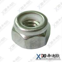 China AL6XN China fastener stainless steel hex lock nut wholesale