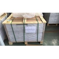 Buy cheap 0.1Mm Overlay Transparent Plastic Sheets With Glue Film For Offset Printing , 0.06mm-0.10mm from wholesalers