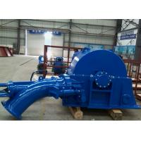 China Single Nozzle 100KW Small Turgo Turbine Generator Unit For Hydro Power Plant wholesale