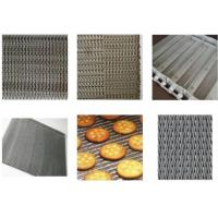 China Non Pollution Eye Link Chain Conveyor Belt Wire Mesh 8mm For Snack Foods wholesale