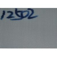 China 12502 / 30273 Polyester Dryer Screen Mesh Belt For Food Dryer , White Color wholesale