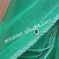 Quality Dark Green Construction Safety Netting For Scaffolding , HDPE Building Net 35gsm - 300gsm for sale