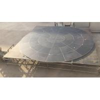 Buy cheap Anomaly And Durable Fitting Portable Stage Platform For Circle Stage from wholesalers