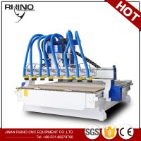 China 8 Heads Woodworking CNC Router Machine 380V 3 Phase Type CE Approval wholesale