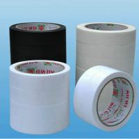 China colorful white / tan crepe peper low tack masking tape of heat resistant wholesale