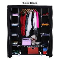 quality bedroom cupboard portable folding wardrobe for clothes storage