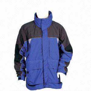 China Men's Winter Jackets, Made of Nylon wholesale