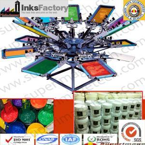 China Water Based Silkscreen Printing Ink for T-Shirts wholesale
