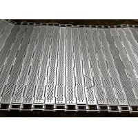 Buy cheap 304 Stainless Steel Chain Plate Conveyor Mesh Belt Frozen Food Line Equipment from wholesalers
