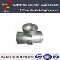 China Stainless / Carbon / Alloy Steel Pipe Fittings Metal Casting Products Lightweight wholesale
