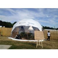 Buy cheap Semi - Permanent 10m Diameter Geodesic Dome Tent Party Steel Structure For from wholesalers
