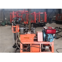 China 200 Meters Rotary Hydraulic Chuck Geological Drilling Rig wholesale