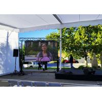 China Waterproof LED Display Flexible Video Screen , P 7.8mm Outdoor LED Advertising Screens wholesale