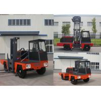 China Multi - Direction 5000kg Diesel Engine Forklift Side Loader 6 meter Highest Mast wholesale