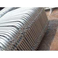 Wholesale hot dipped galvanized pipe welded 2*1m size crowd control barrier from china suppliers