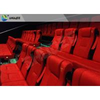 China Film Projector 3D Cinema System With Plastic Cloth Cover Chair 100 People wholesale