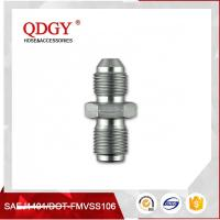 China STAINLESS STEEL MATERIAL  BLEED NIPPLE FITTING MALE TO MALE ADAPTER M10 X 1.00 TO M10 X 1.25 wholesale