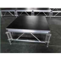 China 6082-T6 Aluminum Movable Stage Platform / 1.22 X 1.22m Outdoor Portable Stage wholesale