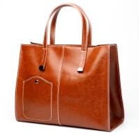 China 2019 hot sell designer handbags ladies genuine leather red large tote bag real leather purse bag wholesale