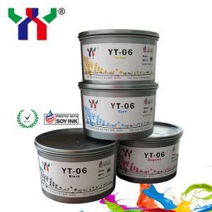 China High Quality Anti Heat YT-06 Melamine Soya Offset Printing Ink on sale