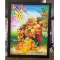 China 2021 hot sale cheapest advertising exhibition 3d art photos printing wedding photos with magic 3d lenticular effect wholesale
