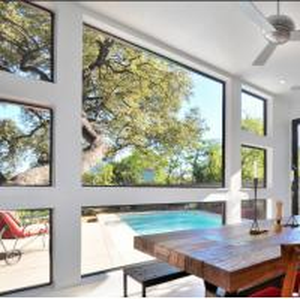 China Simple Structure Design Aluminum Fixed Window wholesale