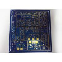 Buy cheap Durable Mulilayer HDI Printed Circuit Boards HASL Blue Solder Mask White from wholesalers