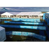 China Customized  Size Large Aluminum Fireproof Event Tents With Wooden Floor wholesale
