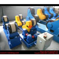 China 80 Ton Full-Automatic VFD Control Pipe Welding Rotators For Cylinder Seam Welding wholesale