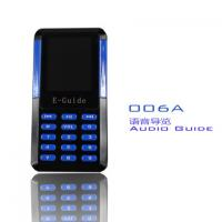 China 006A Mini Tour Guide Audio System 8 Languages Handheld Digital Audio Guides For Museums wholesale