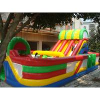 China Inflatable fun city / inflatable playground  / castle bouncer slide playground fun city wholesale