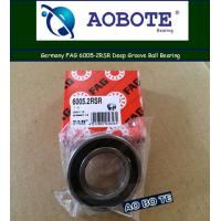 China FAG Spherical Roller Bearings 6005-2RSR , Single Row Angle Contact Ball Bearing wholesale
