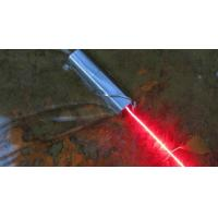 Quality 638nm 500mW Orange-red Beam Square Stainless Steel Laser Flashlight for sale