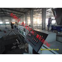 China High Efficiency Plastic Extrusion Line , Water And Gas Pipe Extruder wholesale