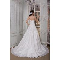 Quality Albizia Newest Design Formal Sweetheart A-Line Chapel Train Wedding Dress for sale