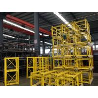 China Portable Construction Material Hoists / Passenger Hoist Green Yellow Customized wholesale