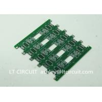 China Pannelized Double Layer Making Printed Circuit Boards RoHS Hot Air Solder Level wholesale