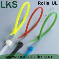 China LKS UV protection and cold-resistance self-locking nylon cable ties with different colors wholesale