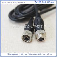 China Custom 4 Pin Rear View Video Cable For Backup Camera , 12V Or 24V Volta wholesale