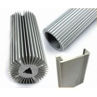 China Architectural Aluminium Profile , Circular Heatsink Extruded Aluminium Profile on sale