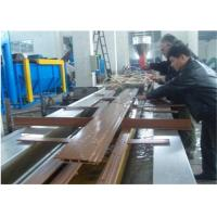 China Professional WPC Profile Production Line / Plastic Profile Extrusion Line wholesale