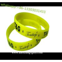 China Artificial Style and Business Gift Use silicone bracelets as customized no MOQ wholesale