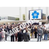 Quality Outdoor SMD P6 LED Video Walls Full Color Interactive Advertising LED Billboard for sale