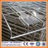 China Industrial storage use adjustable heavy duty wire mesh deck wholesale